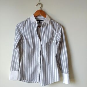 Banana Republic ▪ Striped Button-Down Dress Shirt